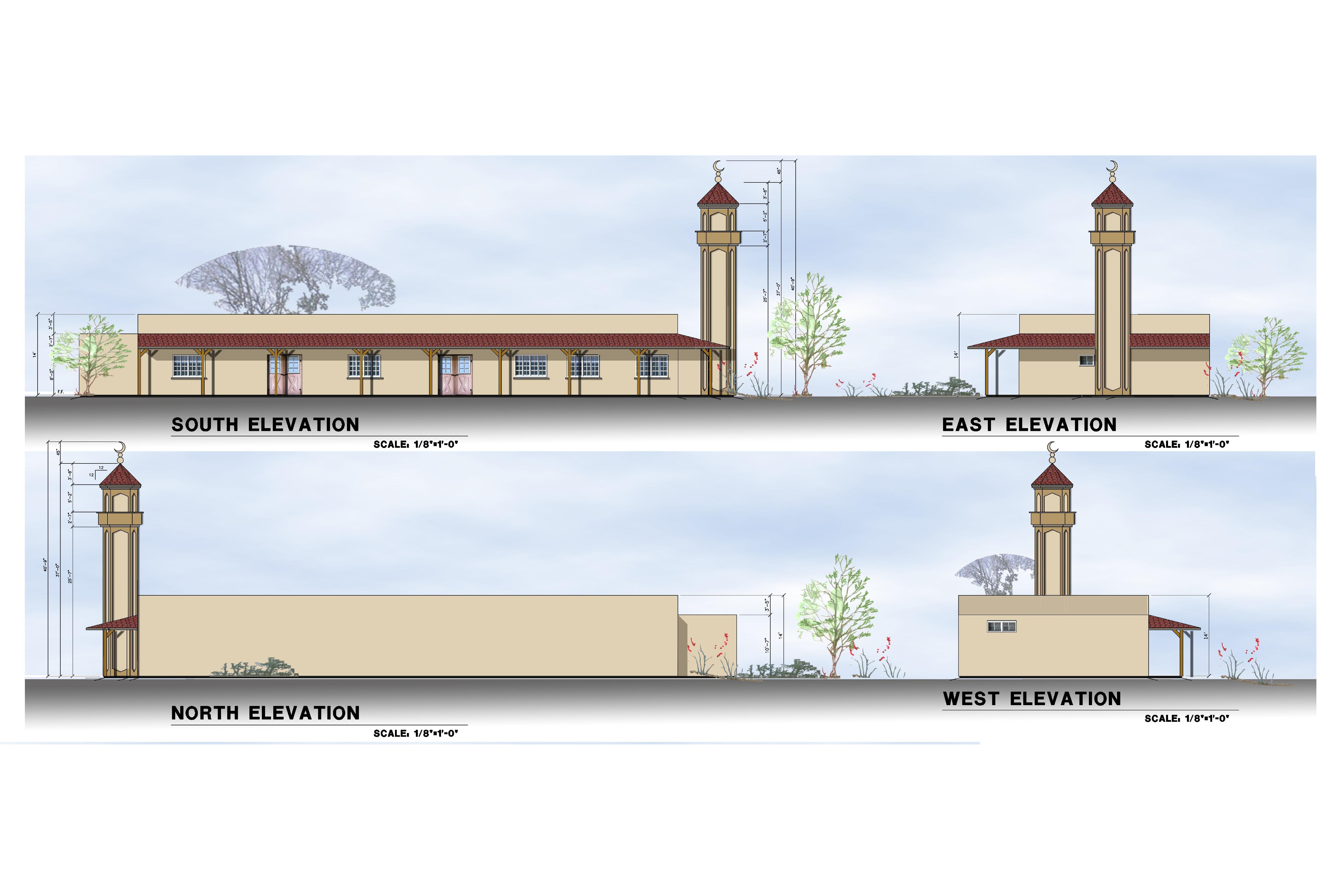 Masjid Plans Al Umma Center