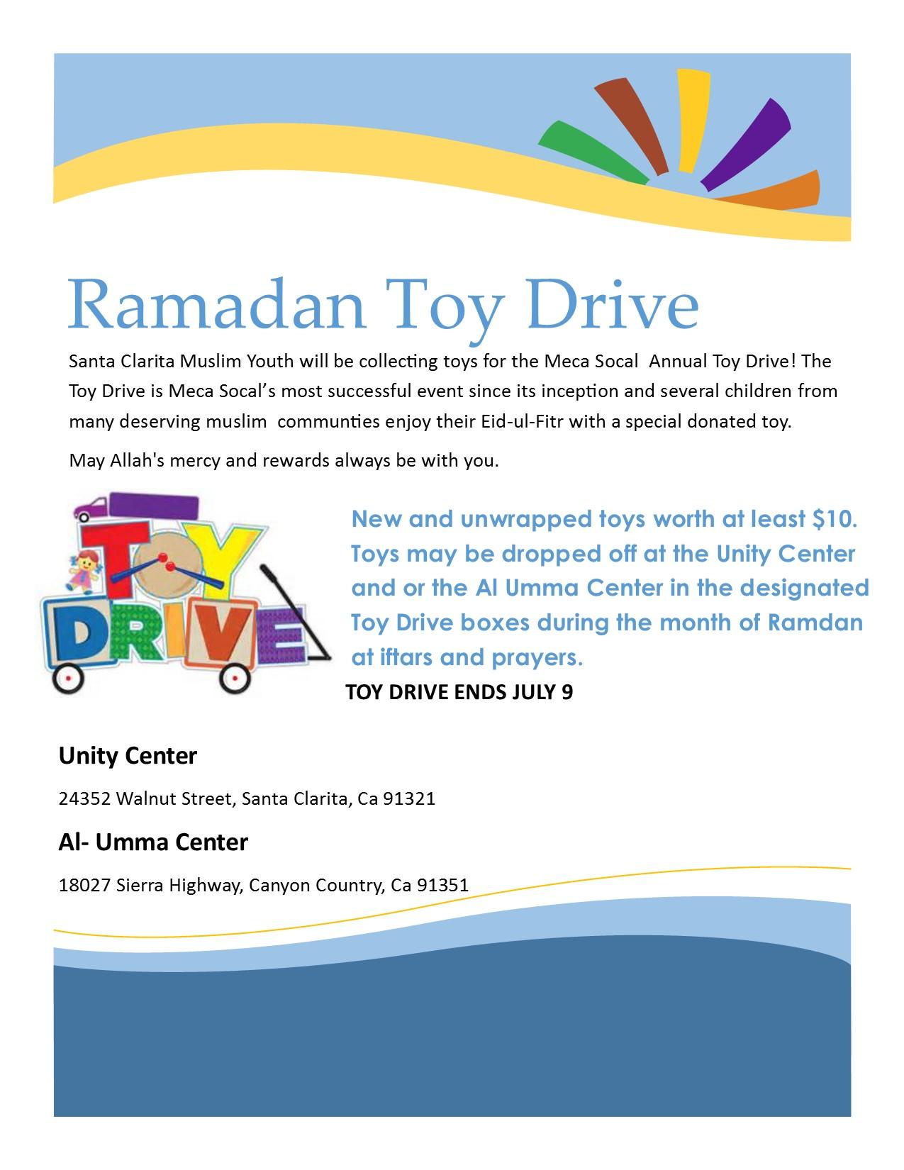Ramadan 2015 Toy Drive