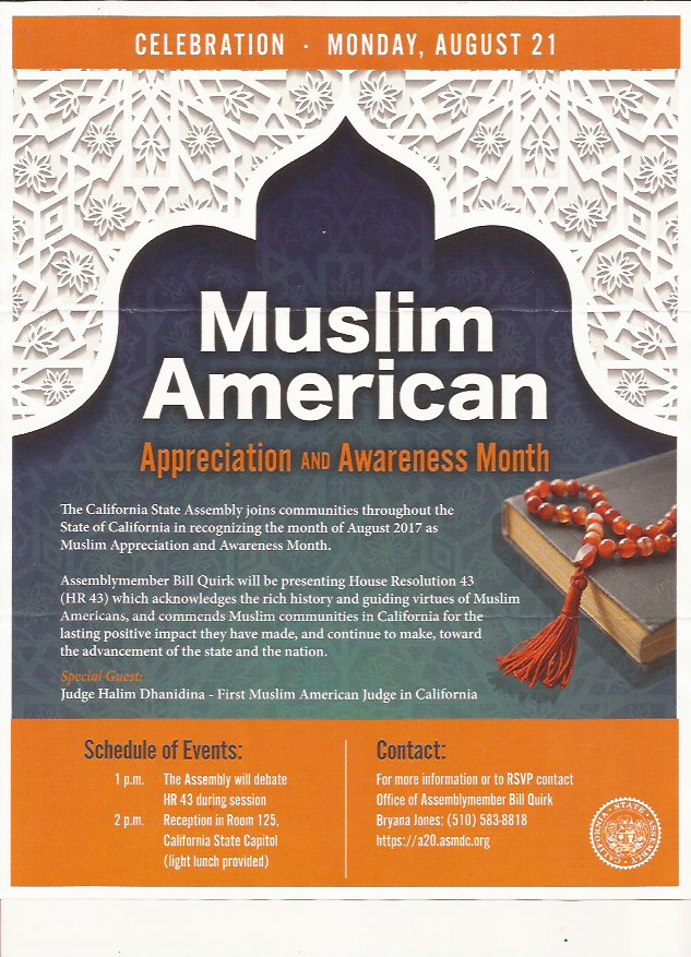 Muslim American Appreciation & Awareness Month